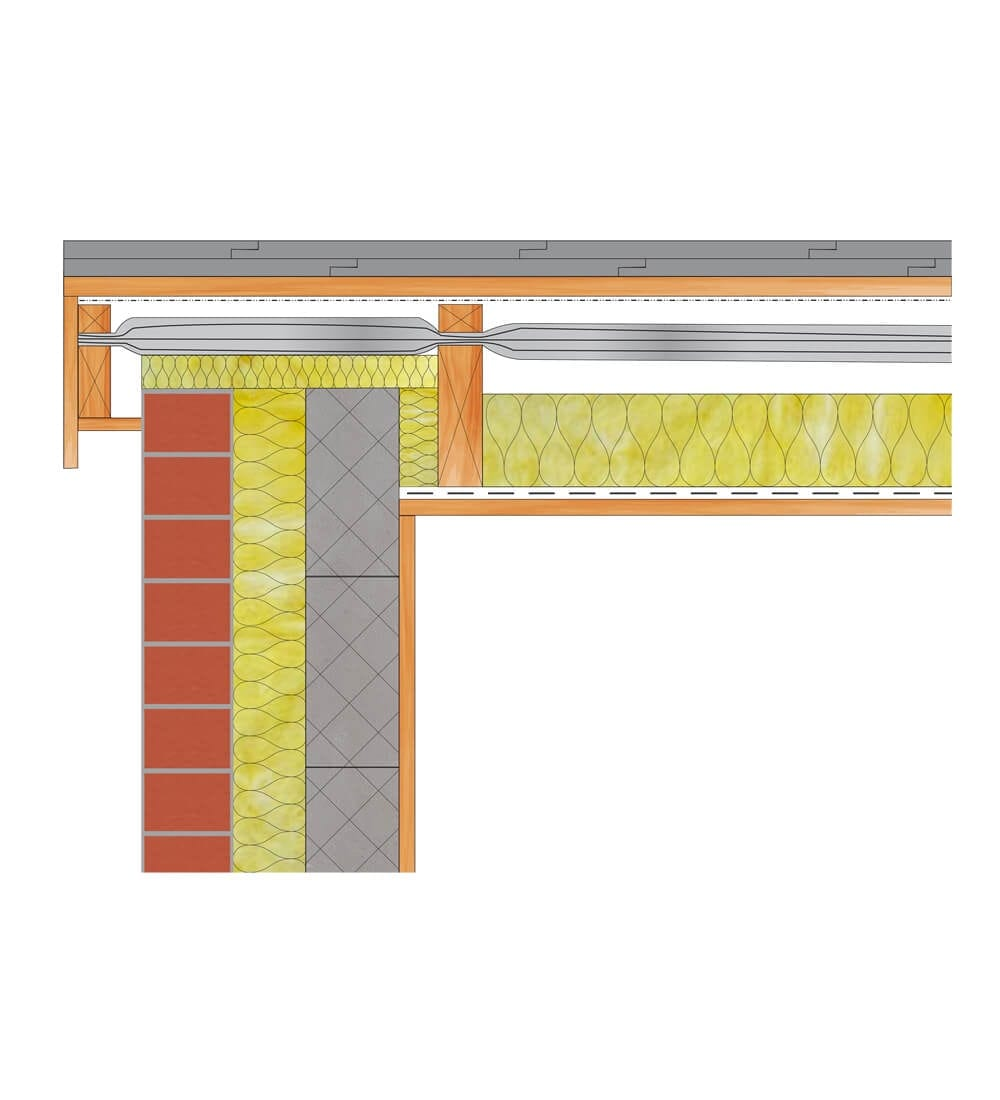 Flat Roof Over Joists