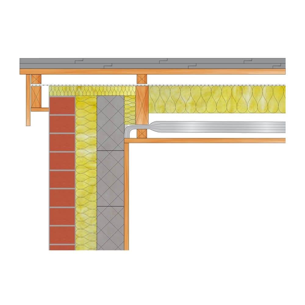 Flat Roof Under Joists