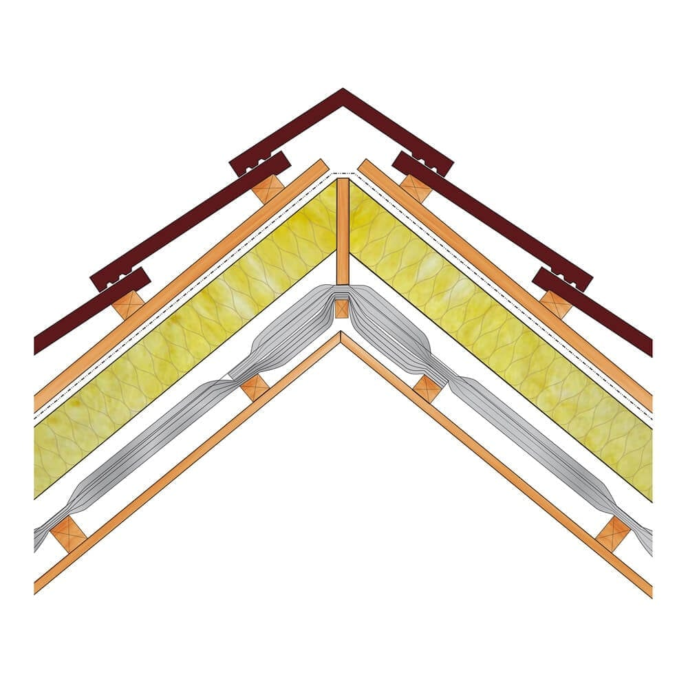 Pitched Roof Under Rafter