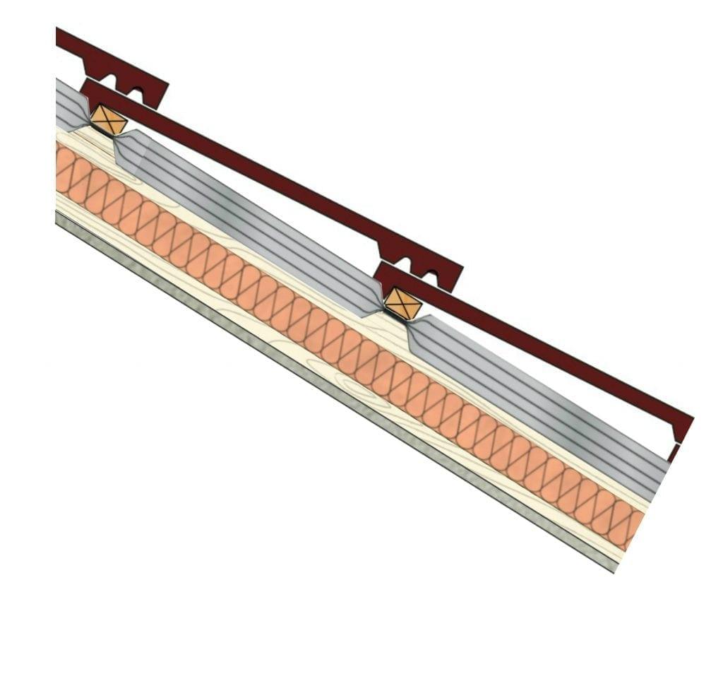Warm roof insulation 0.18U