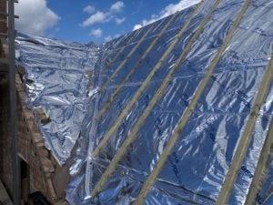 installing foil insulation