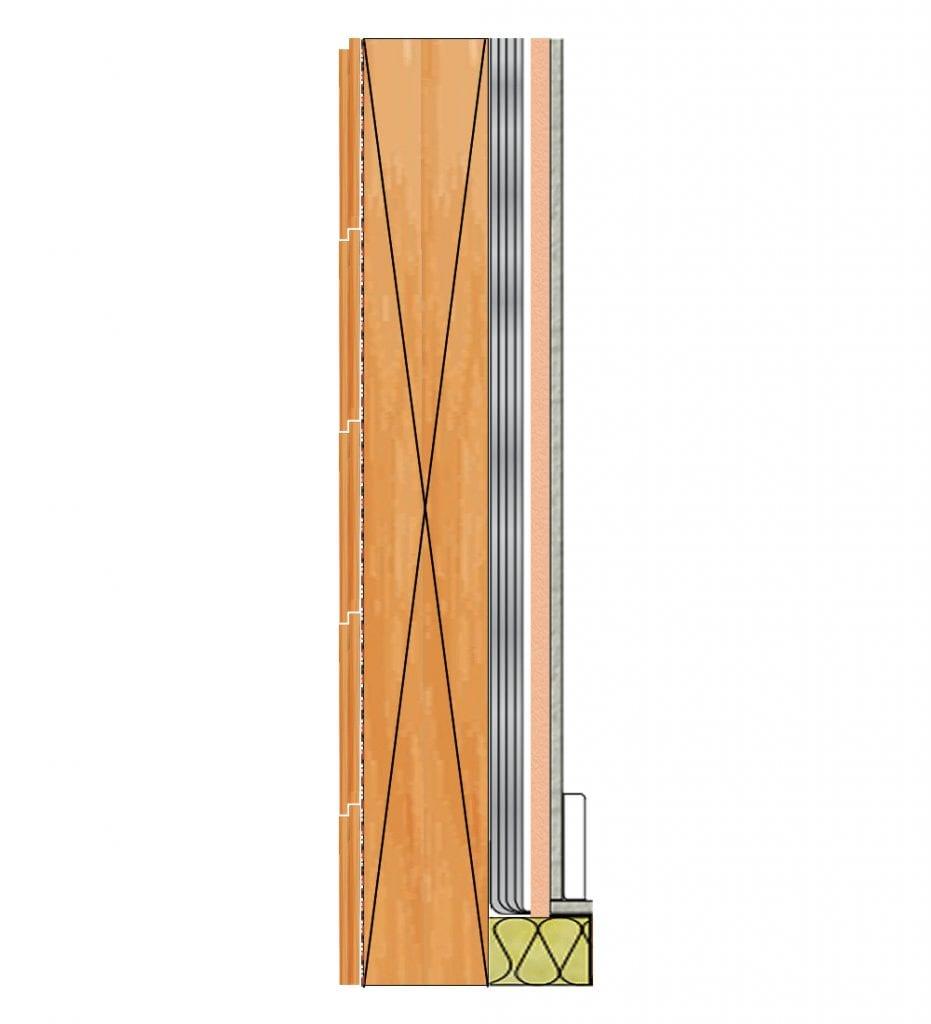 Timber Frame Wall Insulation - Week 14