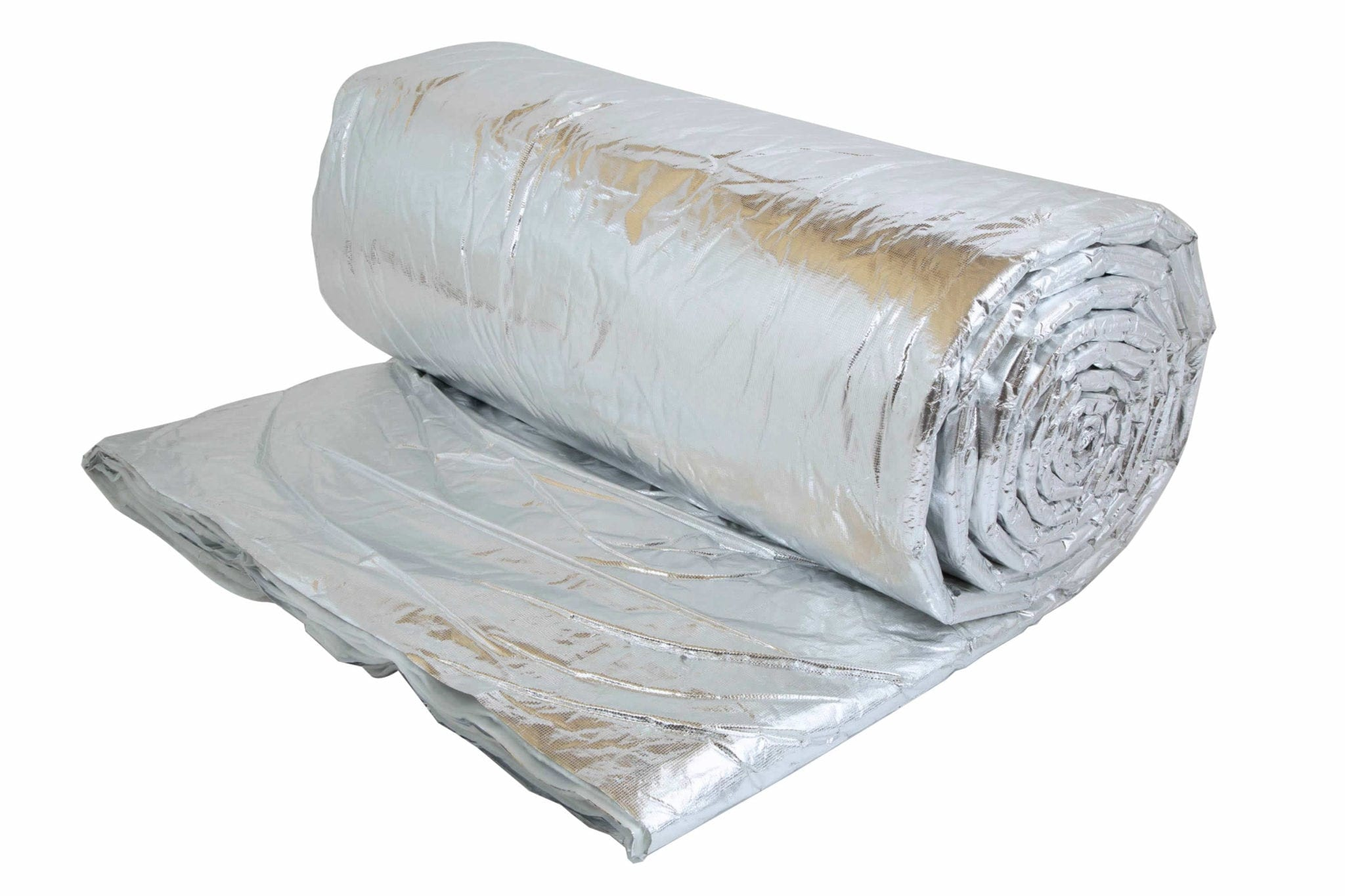 fire rated multi foil insulation for use in roofs walls