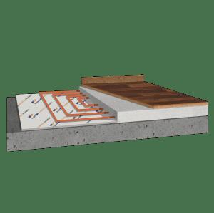 SuperFOIL Under Floor Install Diagram