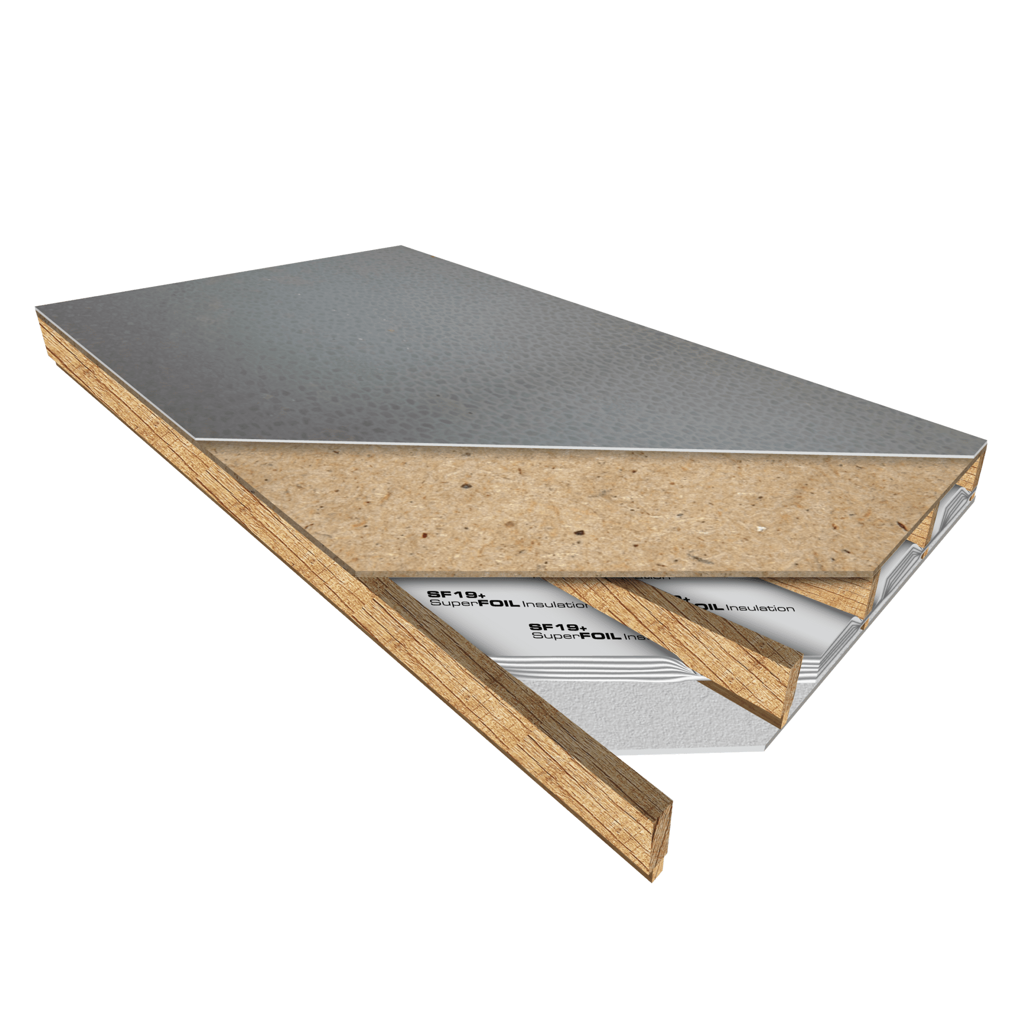 flat roof SF19+ insulation