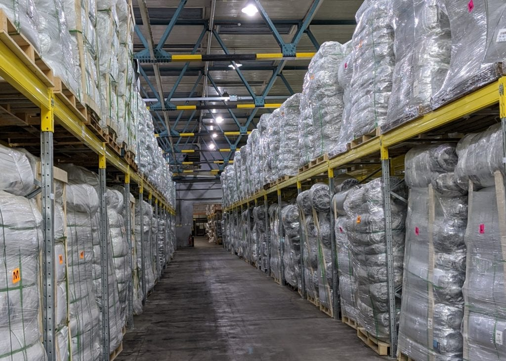 SuperFOIL warehouse - now supported by Orderwise
