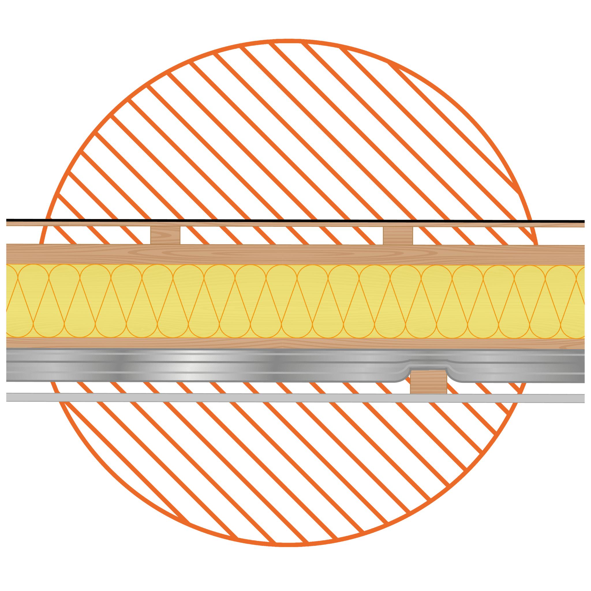 Flat-Roof-Under-Joist