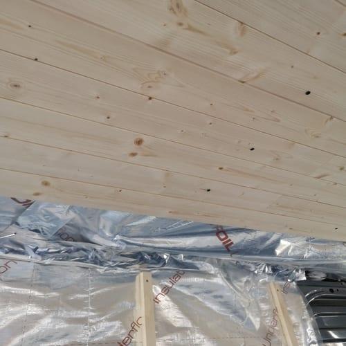 Campervan Wooden Roof
