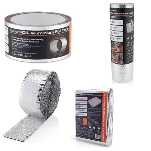 Selection of SuperFOIL DIY products