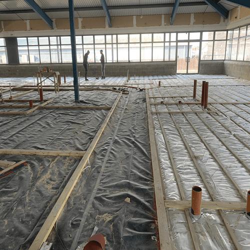 Office Floor Foil Insulation