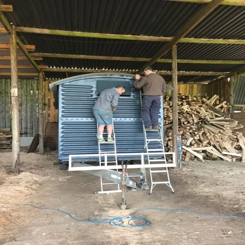 Adding Roof To Railway Wagon