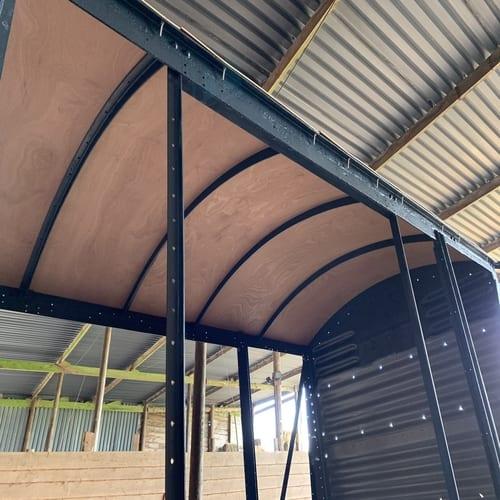 Railway Wagon Inner Roof