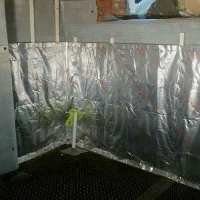 SuperFOIL Basement Conversion